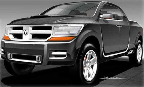 2006 Dodge Rampage Concept. Dodge Rampage Concept